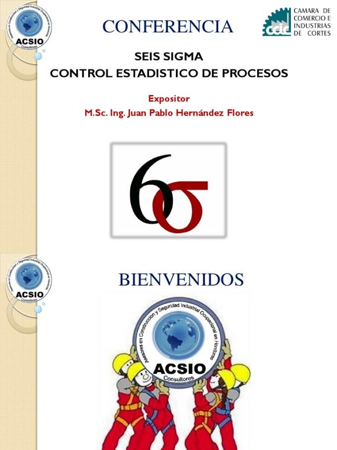 Seis Sigma Control Estadístico De Procesos – Juan Hernández ACSIO