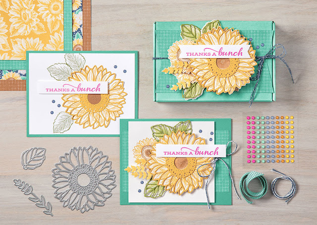 Celebrate Sunflowers Stampin Up