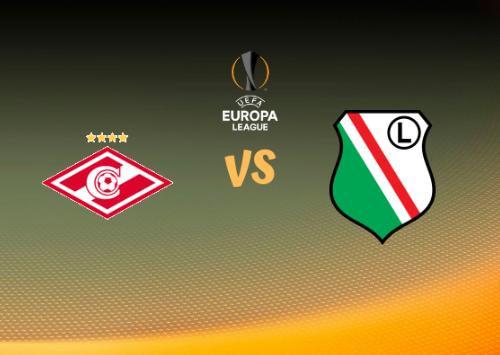 Spartak Moscú vs KP Legia Varsovia  Resumen