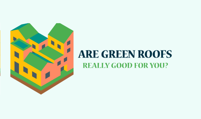 Benefits of green roof #Infographic