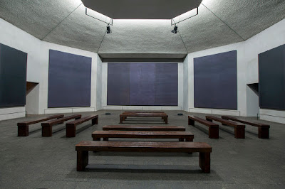 Inside the Rothko Chapel
