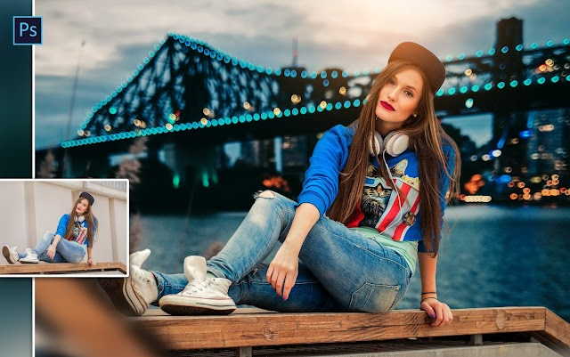 Instagram Style Girl Photo Editing with Trending Color Effects in Photoshop cc