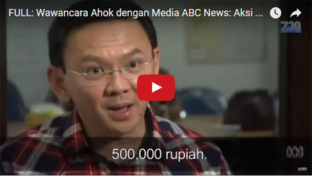 Tuduh Massa 411 Dibayar Rp 500 Ribu, Ahok: Omongan Saya Dipelintir