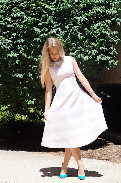 Chicago blogger wedding wardrobe
