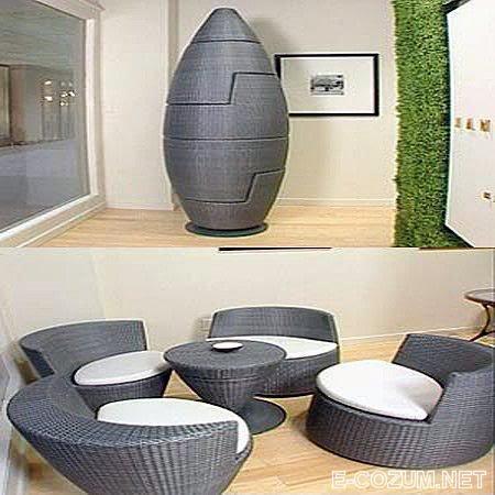 İlginç koltuk tasarımları