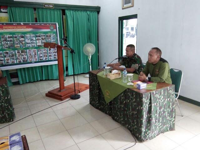 Rapat Koordinasi Penutupan Kegiatan Program Bakti TNI KB Kes Terpadu Kodam III/Slw TA 2016