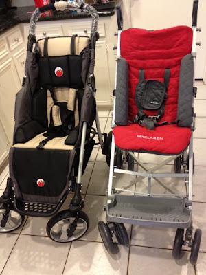 special tomato height right chair red chairs canada a day in the life of reagan leigh: stroller review (maclaren major vs eio push