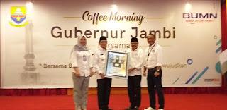 Coffee Morning Gubernur Jambi Bersama Forum BUMN.