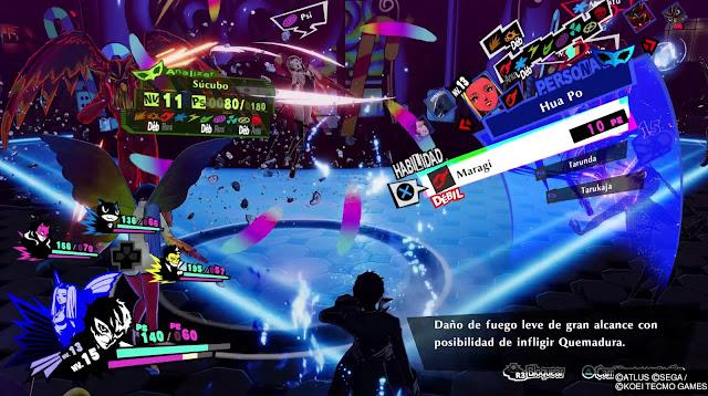 Hua Po Habilidad Persona 5 Strikers