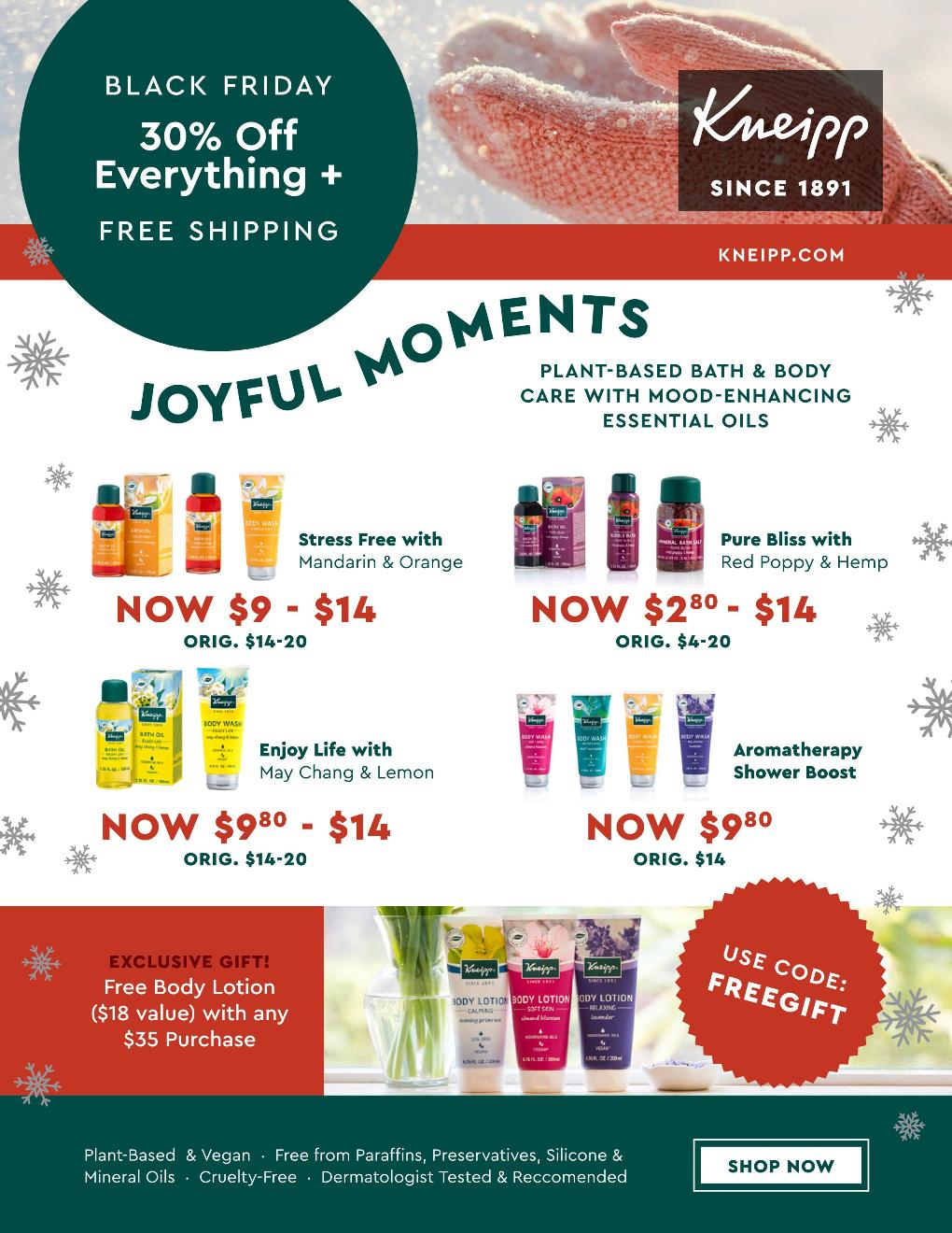 Kneipp Black Friday page 6