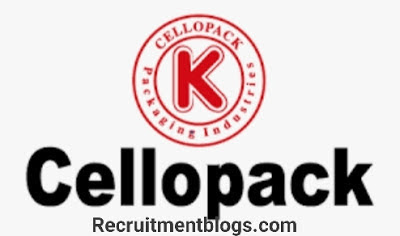 Admin Assistant At Cellopack for packaging industries