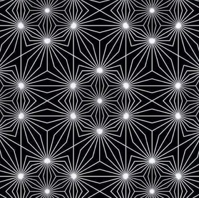 Optical Illusion in which nodes seems be to Emitting Light