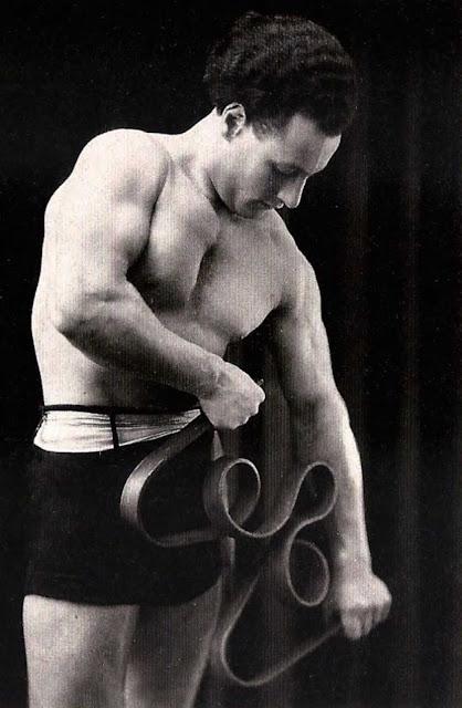 Strongman, circa 1920.