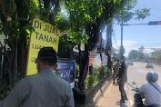 Timbulkan Kesan Kumuh, Satpol PP Kota Denpasar Tertibkan Spanduk