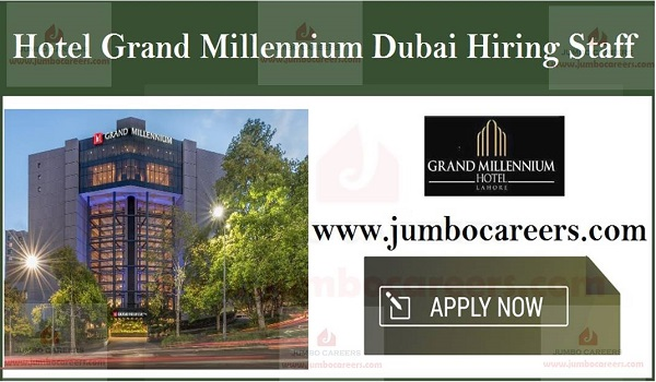 Current Hotel jobs with salary, Available job vacancies in UAE,