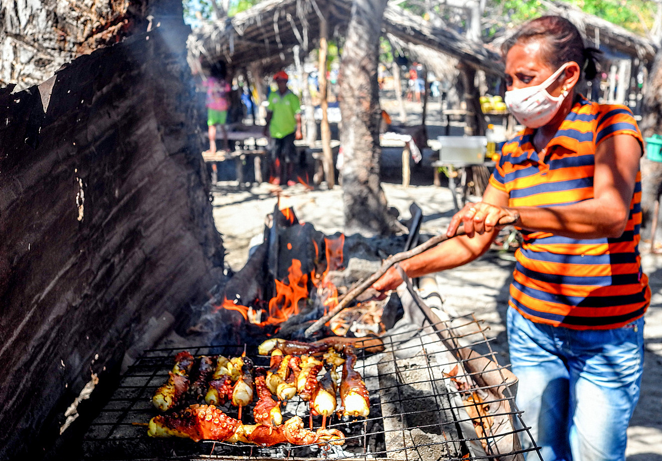 Atauro Island Seafood Market, Timor-Leste