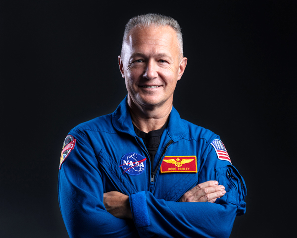 Former U.S. Marine Colonel Doug Hurley is now a retired NASA astronaut.