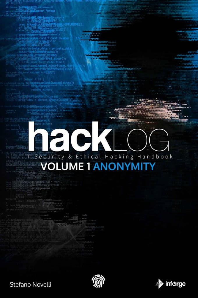 Hacklog : Volume 1 Anonymity