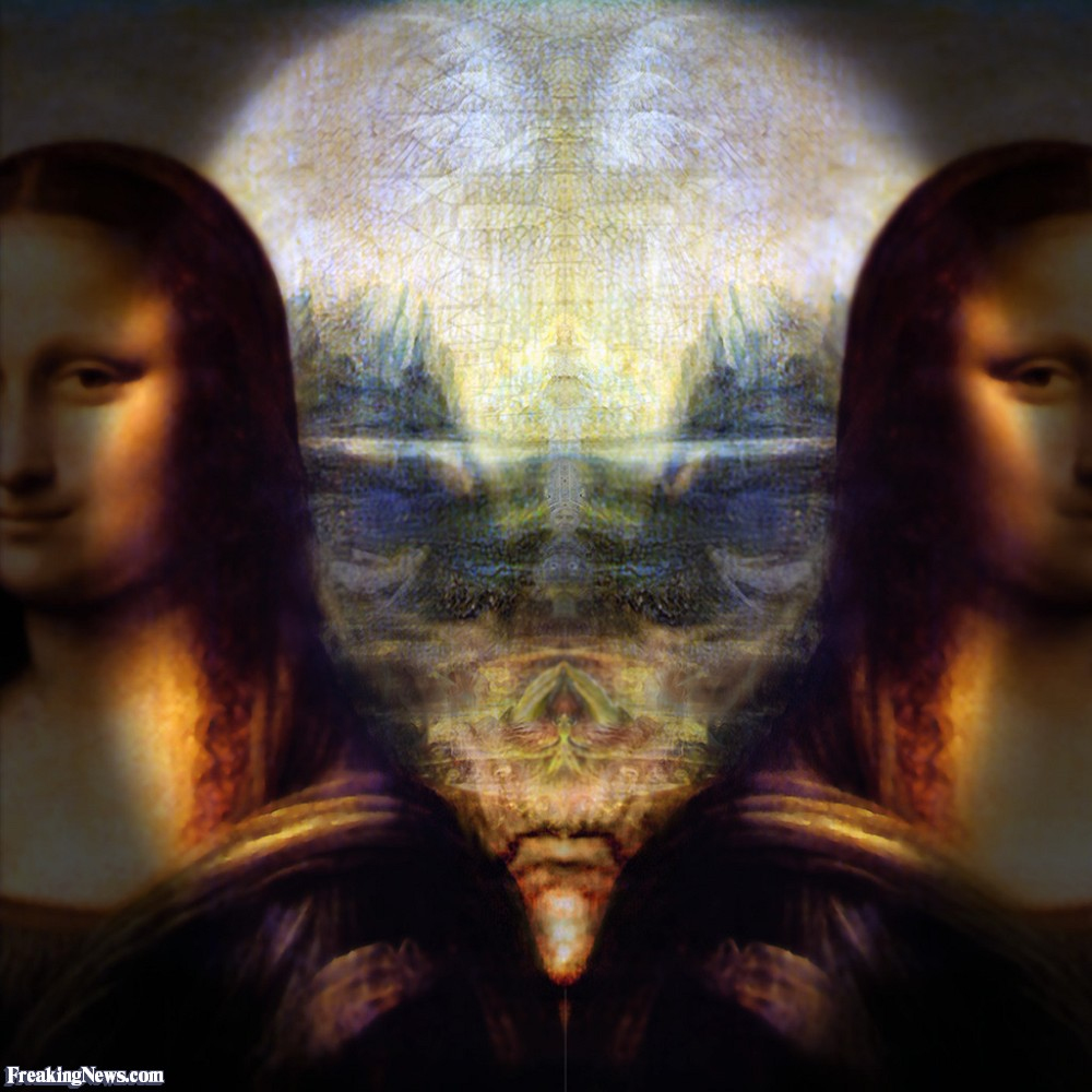 Ternyata Lukisan Monalisa Menyembunyikan Sosok Alien Lucu Lucuan Aja