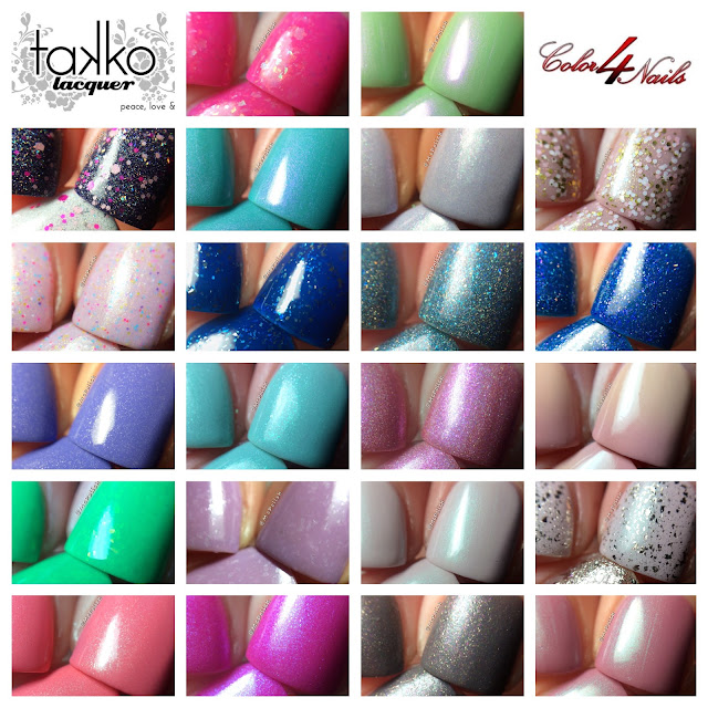 Takko Lacquer at Color4Nails - macros by McPolish