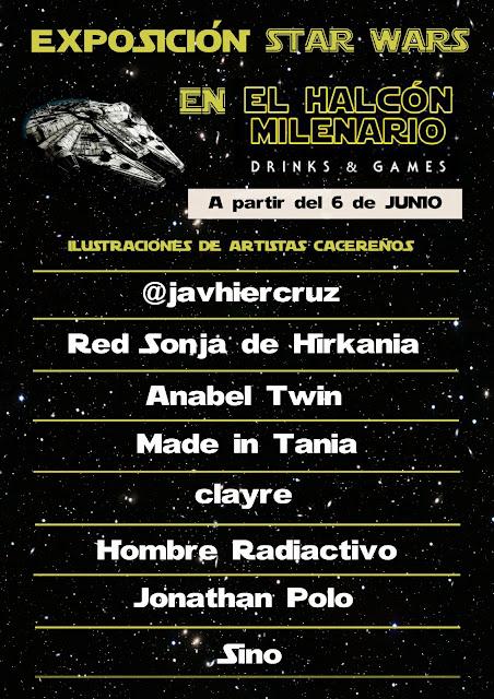 Exposición Halcón Milenario Drinks & Games