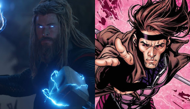 Chris Hemsworth quase interpretou Gambit na franquia X-Men