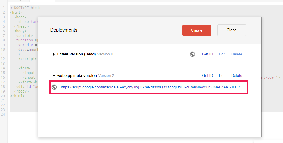 Upload Files to Google Drive with Google Apps Script - WebApp