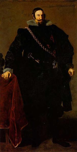 Диего Веласкес - Портрет графа Оливареса (1624)