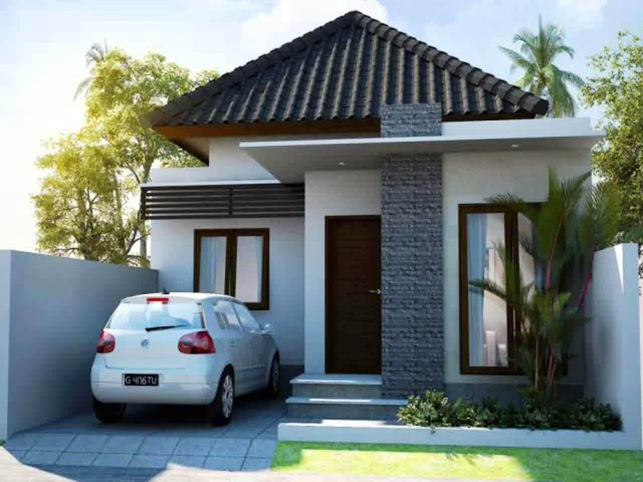 Desain Rumah 1 Lantai Type 45 Sederhana