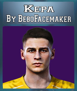PES 2020 Faces Kepa Arrizabalaga by Bebo