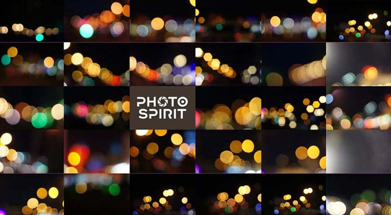 Natural Bokeh Effects Overlays Pack