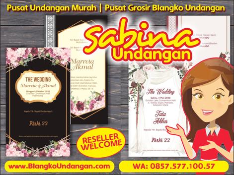 Sabina Grosir Blangko Undangan