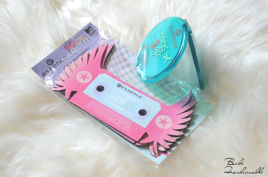 essence Partybox Schuh Accessoires und Reisespiegel