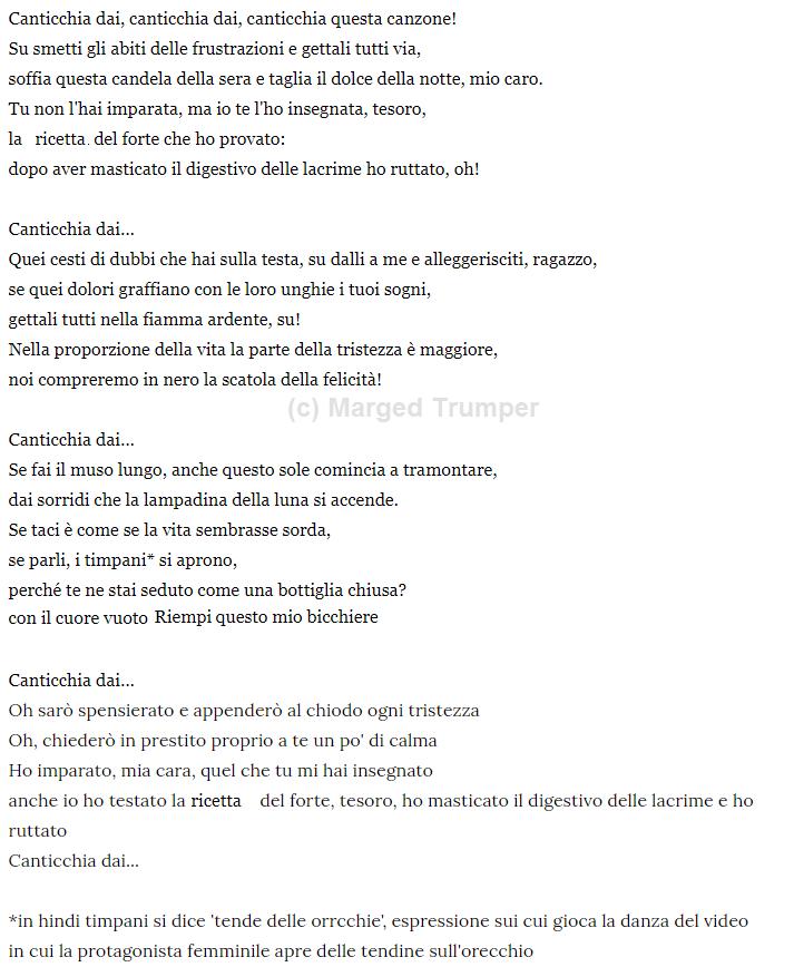testo traduzione di gungungunare canzone bollywood agneepath