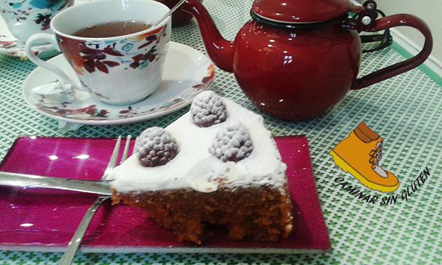 CARROT CAKE LA CELIACOTECA SIN GLUTEN 2015