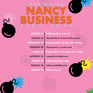 Blog Tour Schedule for Nancy Business by R.W.R McDonald