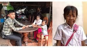 Bo Rakching  gadis yang berusia 11 tahun  gangguan kesehatan  Lipodystrophy