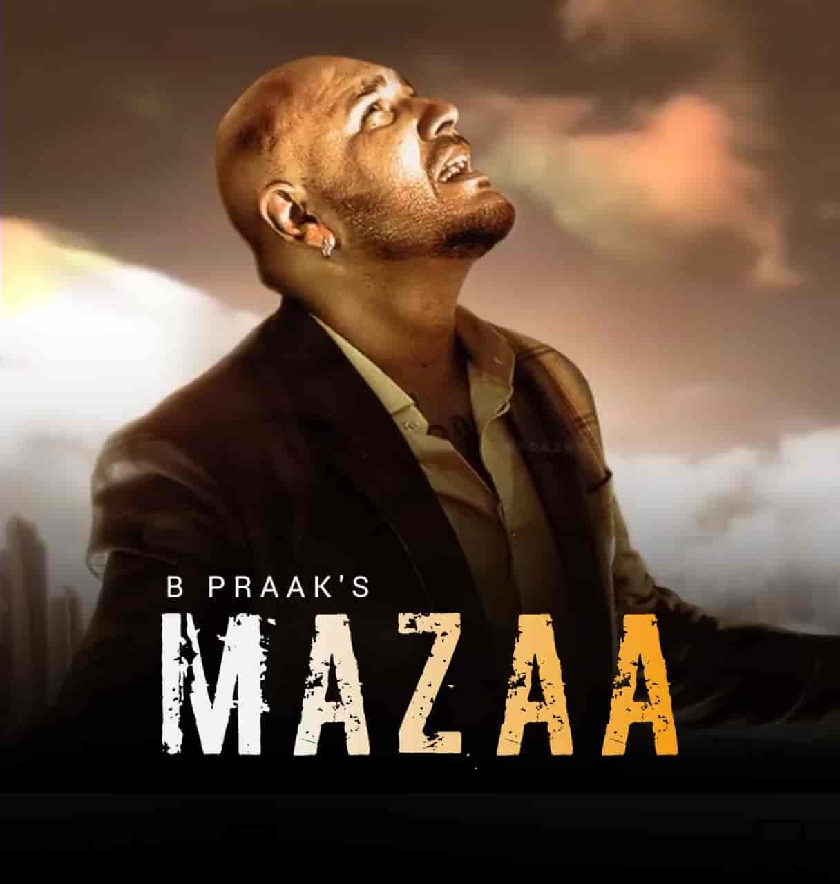 Mazaa Sad Punjabi Song Image Features B Praak