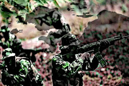 Kontak Tembak di Pos TNI di Mapenduma, 2 Prajurit Kena Luka Rekoset