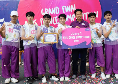 SMAN 6 Karawang Juara 1 AXIS Dance Competition 2017