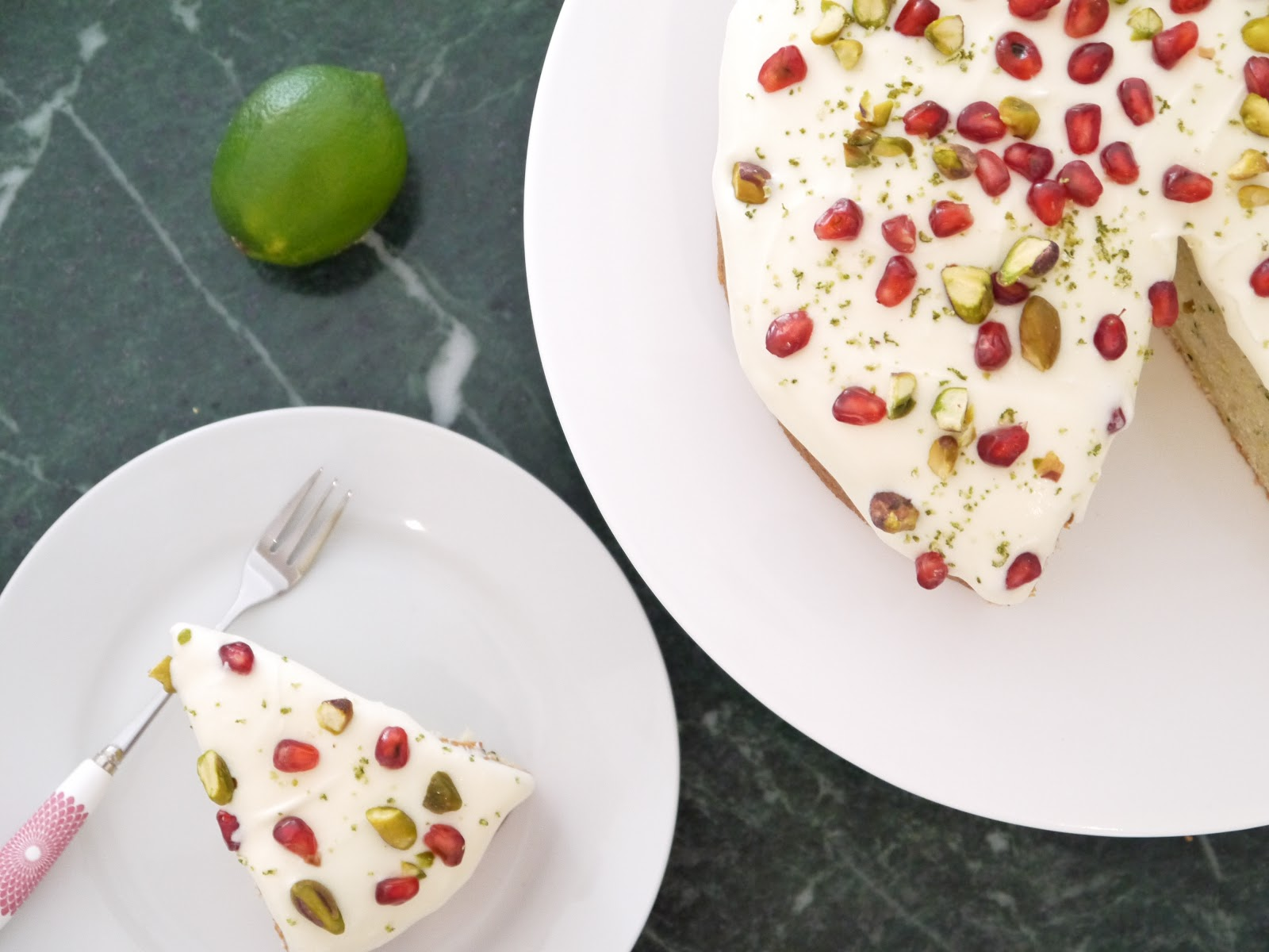 The Betty Stamp The Best Courgette / Zucchini and Lime Cake Recipe