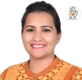 भारतीय युवा कांग्रेस की राष्ट्रीय महासचिव एवं प्रदेश प्रभारी इशिता का झाबुआ में एक दिवसीय दौरा 27 अगस्त को