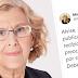 Carmena desvela que ya ha iniciado un procedimiento legal por el bulo del respirador