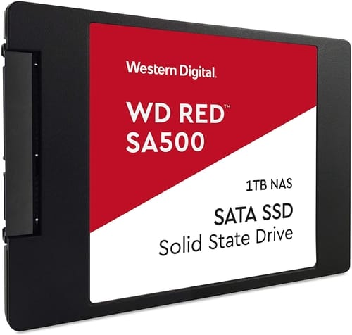 Review WD Red SA500 NAS 1TB 3D NAND Internal SSD