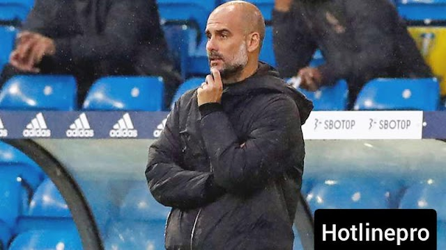 Pep Guardiola insists it's too early to write off Manchester City's title chances