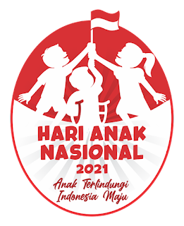 Logo Hari Anak Nasional 2021 CDR