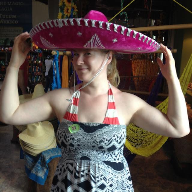 Meksikolainen hattu päähine