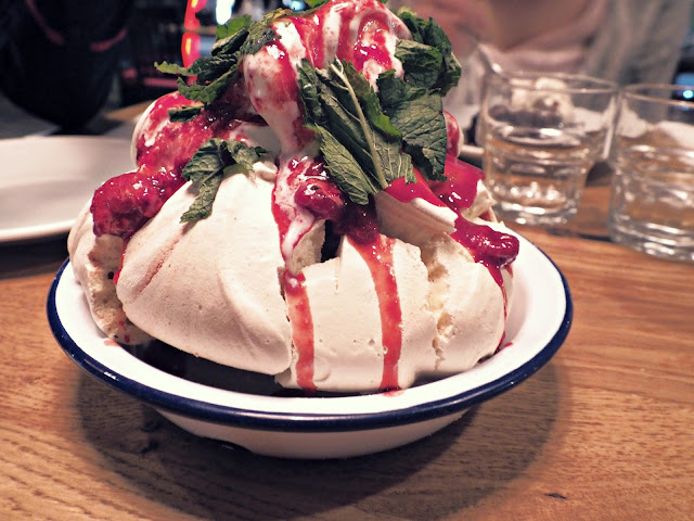 Burger and Lobster Eton Mess