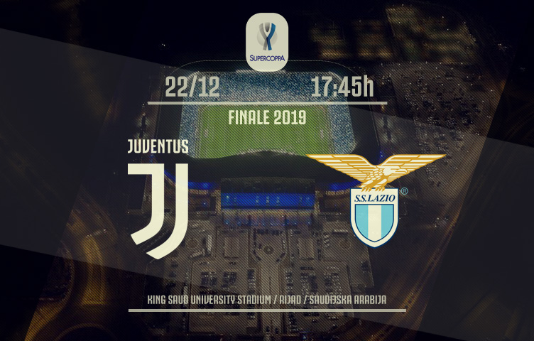 Supercoppa Italiana 2019 / Juventus - Lazio, nedelja, 17:45h