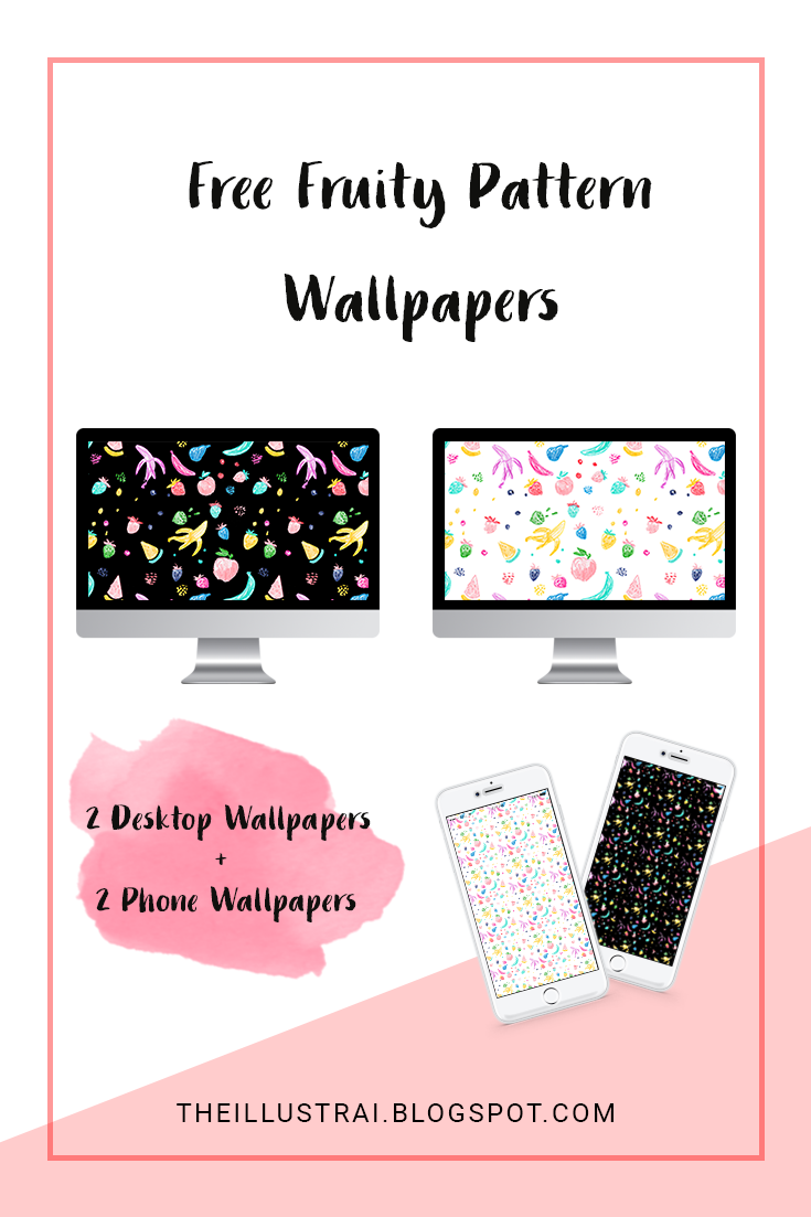 Download these fruity pattern wallpapers for your phone and desktop.